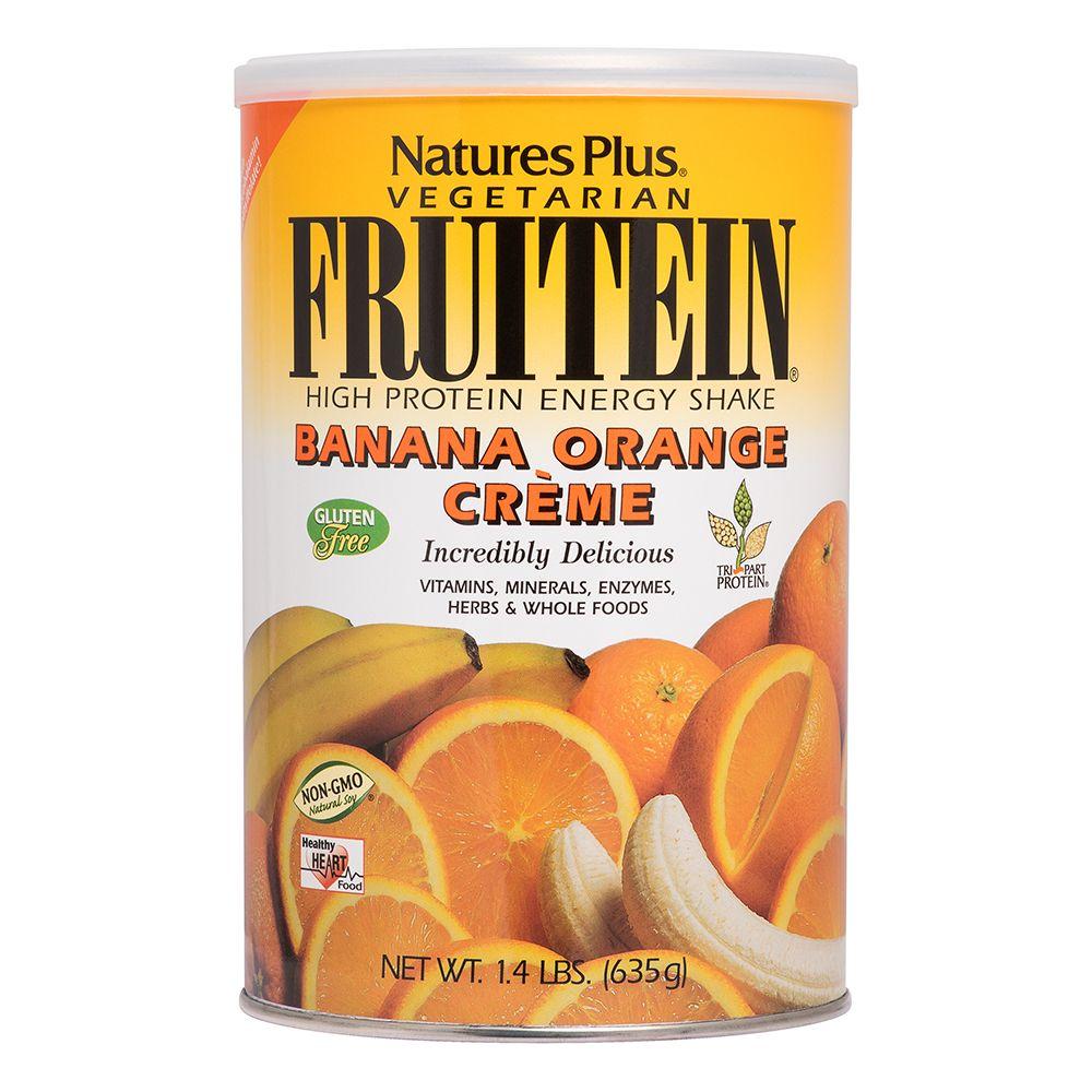 Fruitein alla banana e arancia